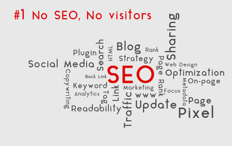 SEO in pillole: #1 No SEO No Visitors