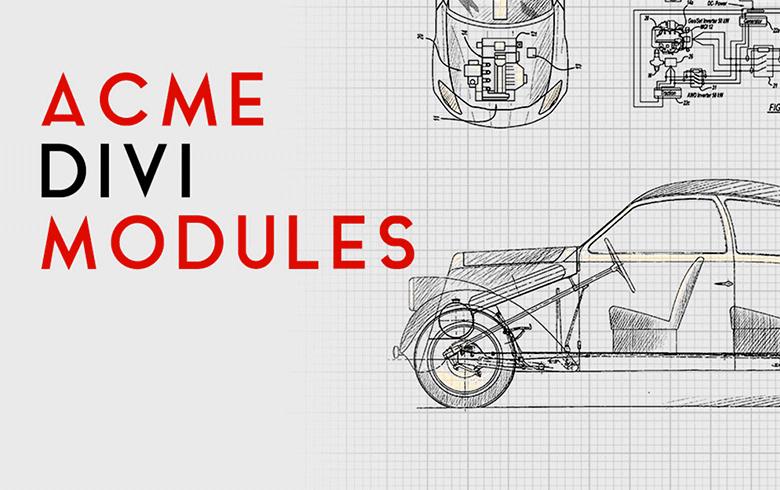 Scopri Acme Divi Modules Plugin