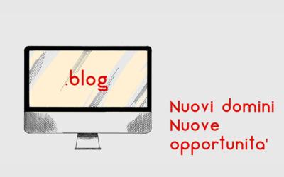 Nuovi domini, nuove opportunità